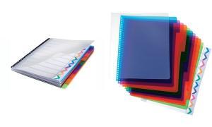 GBC Kunststoff-Register PolyDividers, DIN A4, PP, 5-teilig