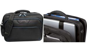 LiGHTPAK Notebook-Tasche LIMA, Polyester, schwarz