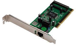 DIGITUS PCI Gigabit Ethernet RJ45 Netzwerkadapter, 32 Bit