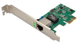 DIGITUS PCI Express Gigabit Ethernet RJ45 Netzwerkadapter