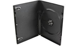 LogiLink DVD-Leerhülle, Jewel Case, für 1 DVD, schwarz