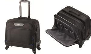 LiGHTPAK Business Notebook-Trolley STAR, Nylon, schwarz