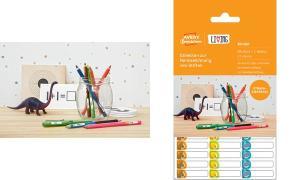 AVERY Zweckform LIVING Stift-Etiketten, 31 x 6 mm, weiß