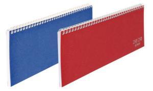 herlitz Tischkalender Colour 2019, farbig sortiert