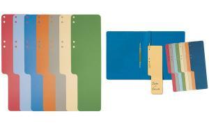 EXACOMPTA Aktenschwänze, Karton, 100 Stück, grün