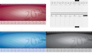 rido idé Tischkalender Sequenz, 2019, schwarz