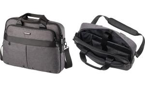LIGHTPAK Notebook-Tasche WOOKIE, Polyester, grau