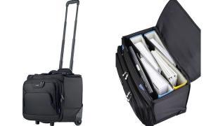 LIGHTPAK Business Notebook-Trolley PIONEER, schwarz
