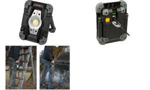 brennenstuhl LED Akku-Arbeitsstrahler, IP54, 10 W