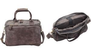 PRIDE&SOUL Notebook-Tasche MYSTIFY, grau / braun