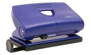 RAPESCO Locher 810-P, Stanzleistung: 12 Blatt, blau