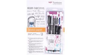 Tombow Christmas Bundle Hand Lettering, inkl. Zeichenb...