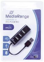 USB-Hub 2.0  1:4 schwarz