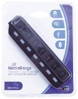 USB-Hub 2.0  1:7 schwarz
