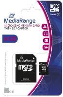 Micro SDHC Speicherkarte 8GB Klasse 10 mit SD-Karten Ada...