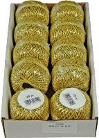 #10xCordonettkordel gold