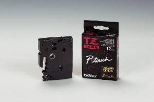 Schriftbandkassette TZ 9mm we/sw