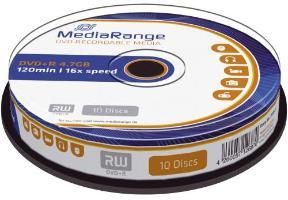 DVD+R 10er Spindel 4,7GB/120min