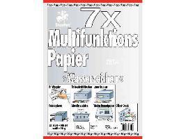 Multifunktions-Papier A4 90G 25Bl Weiss Wasserzeichen