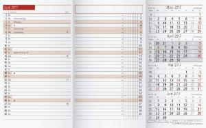 Rido/idé (7040300) Taschenkalender TM 12 Ersatzkalendari...