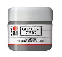 Marabu Kreidefarbe Chalky-Chic, 225 ml, schiefer