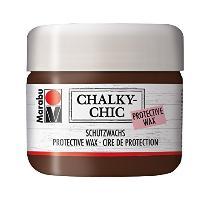 Marabu Schutzwachs Chalky-Chic, 225 ml, patina braun