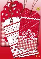 HERMA Weihnachts-Geschenkanhänger White Christmas
