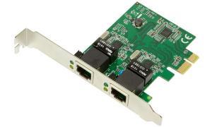 LogiLink PCI Gigabit Ethernet RJ45 Netzwerkadapter, 2-Port