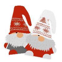 Itenga Sticker 10 x Wichtelbande Weihnachtswichtel