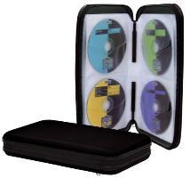 CD-Wallet für 48 CDs schwarz